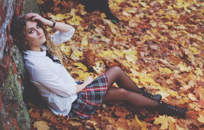 Escaping Autumn Walking Around october