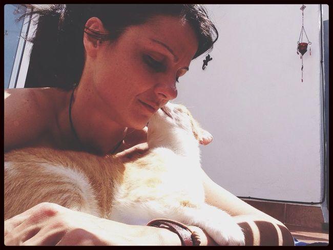 Prenent el sol amb bona companyia Camilo