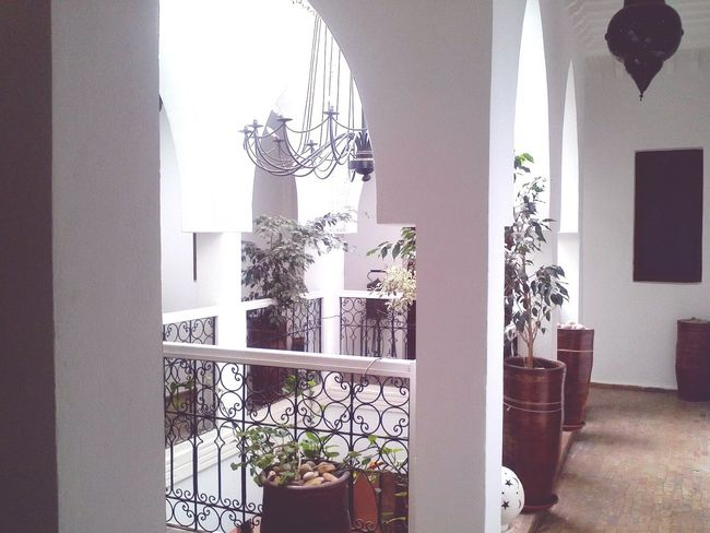 Riad inside 😎 Window Indoors  No People Day Travelling Cultural Tourism Eco Tourism Travel Destinations EyeEmNewHere Architecture Maroccan Architecture Maroccan Style Urban Exploration Urban Photography Riad Indoor Design The Architect - 2017 EyeEm Awards