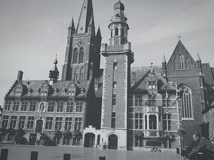 Eeklo city ?? Eeklo Netherlands Europe On The Road Architecture Building Check This Out Traveling Blackandwhite Hello World
