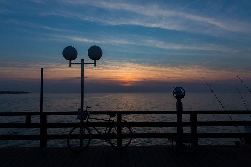 Sundown Twylight Ostseeküste Sea And Sky Ostsee Kühlungsborn