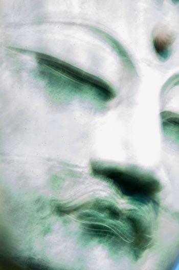 Diabutsu Check This Out Impressionism Japanese Culture Japan Kamakura Japan Photography Portrait Japanese Style Japanese Temple Buddism Blur Buddha Statue Buddha Big Buddha Diabutsu