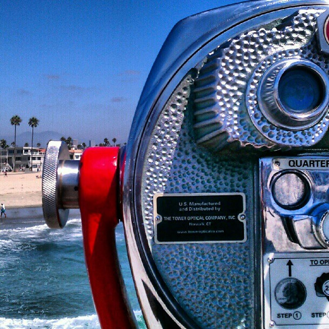 That's a a view From My Point Of View Losangeles Jj  Beach Ocean View Pier LiveanddirectfromLosAngeles Sky