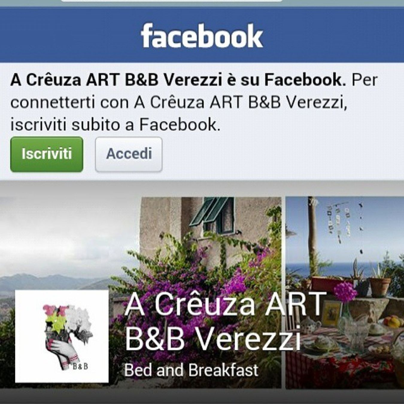 Follow my Little Art B&B on facebook.com/acreuzaverezzi @acreuzaverezzi Verezzi Liguria Art Bedandbreakfast borgioverezzi facebook like summer italy