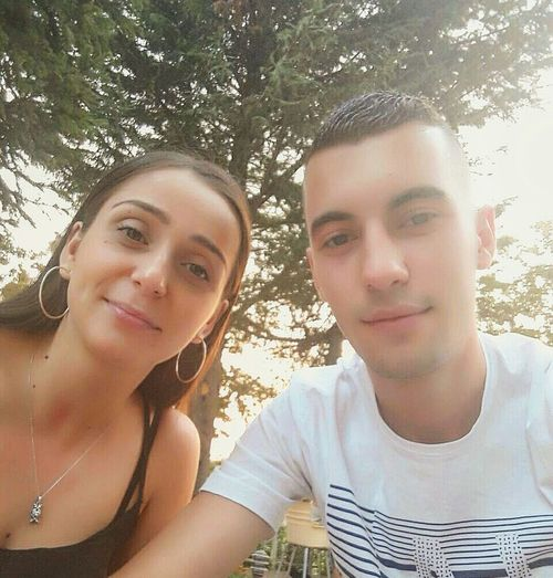 Maria Mariaa ooo o oo hahahahahahh ✌💙✌✌✌✌😚😓😚😚😚😎😎😎😎😎 Nikolija Sarah ❤ One Animal Two People Headshot Portrait Front View Adults Only Togetherness Adult People Looking At Camera Day Only Women Outdoors Friendship Young Adult Summer Wireless Technology Close-up Smiling Women Young Women