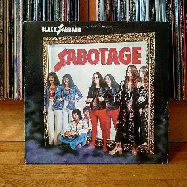 Some great music. Musiclover Vinyl Vinylcollector Blacksabbath Sabotage