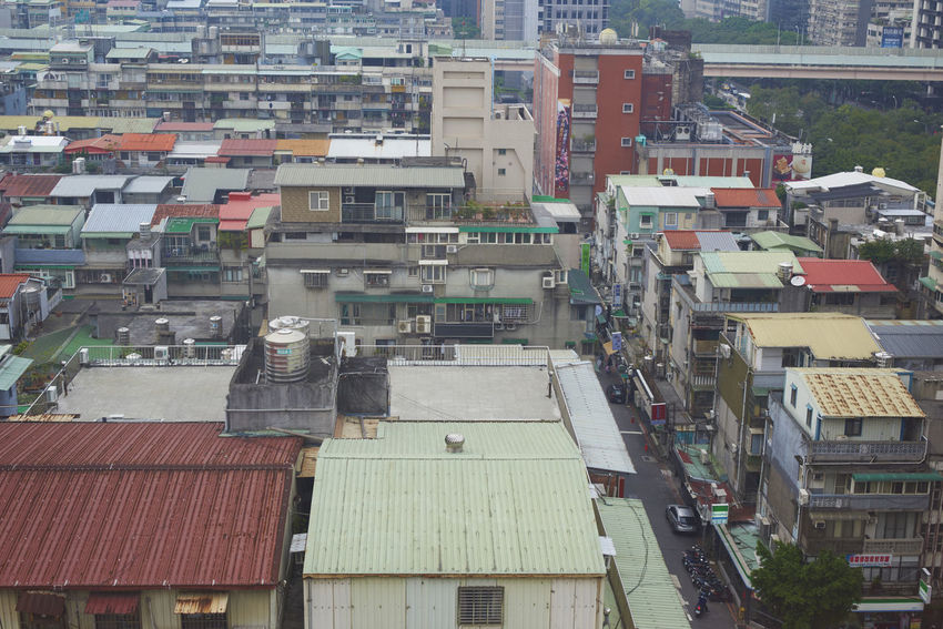 """Taipei city classic high view of suburbs near the main street of """"Zhongxiao"""" street. Most of these buildings were aged and the area is very popular for shopping and local foods. Aerial View Architecture Backpack Backpacker Backpacking City Cityscape High Angle View Local Food Local Food Culture Local Landmark Mrt Old Buildings Old Street Old Streets Residential Building Shopping Taipei Taipei City Taipei,Taiwan Taiwan Taiwan Food Taiwanese Tourism Tourist"""