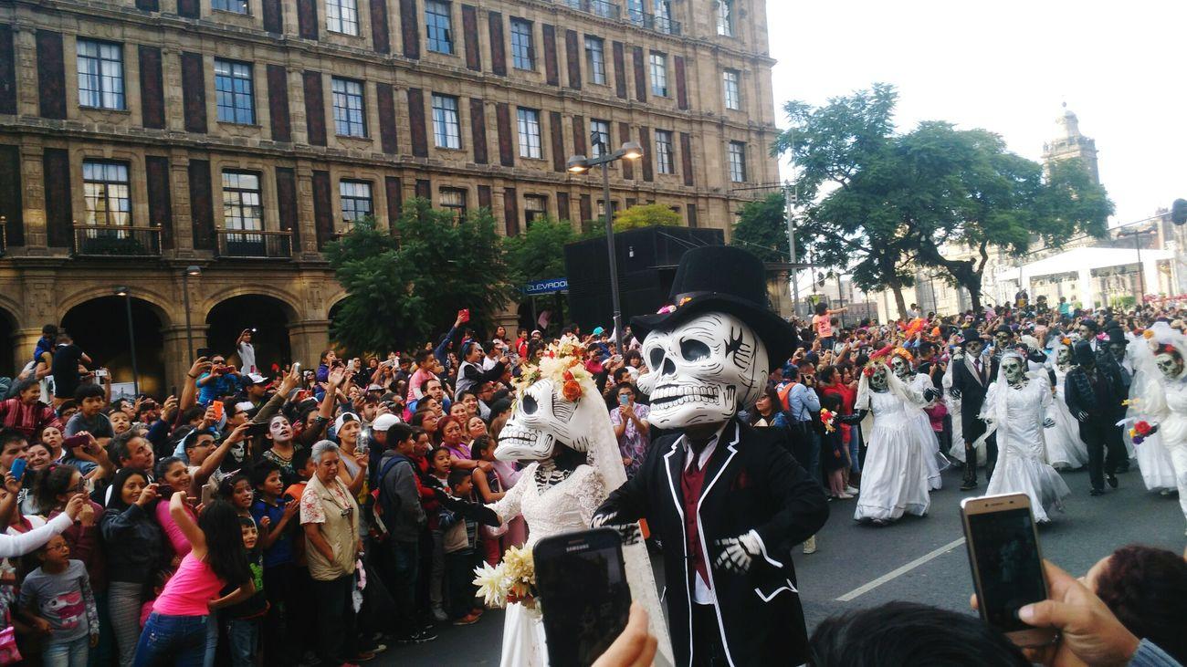 Novioscalavera Diademuertos Desfilediademuertos Cdmx2016