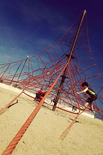 At a beach in Barcelona Barcelonabeach Goldencoast Playaespaña