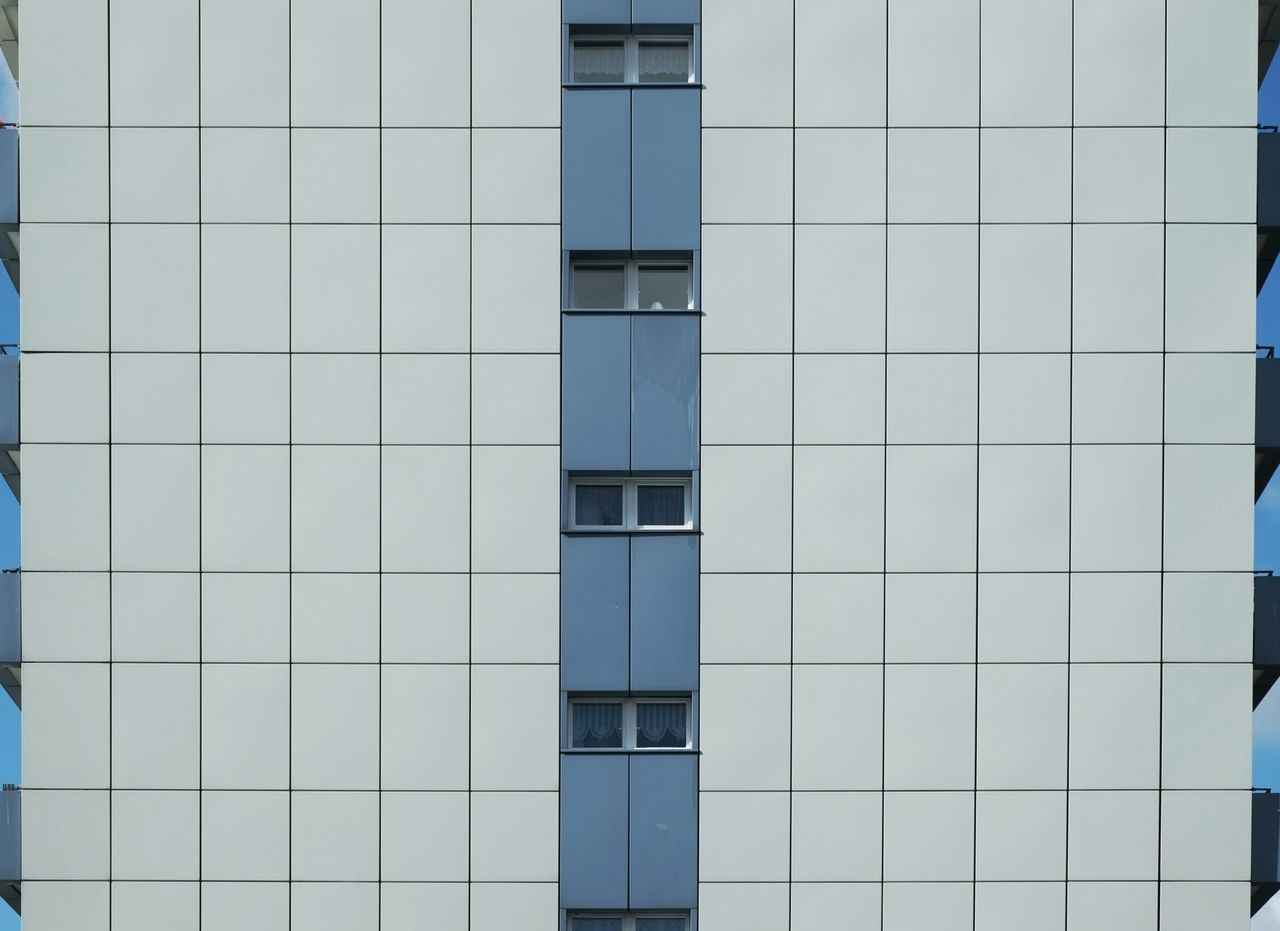 Bluewhitefacade Deceptively Simple Minimalism Minimalobsession Simplicity Urban Geometry Urbanphotography Cityexplorer Architecture From My Point Of View Cityscape