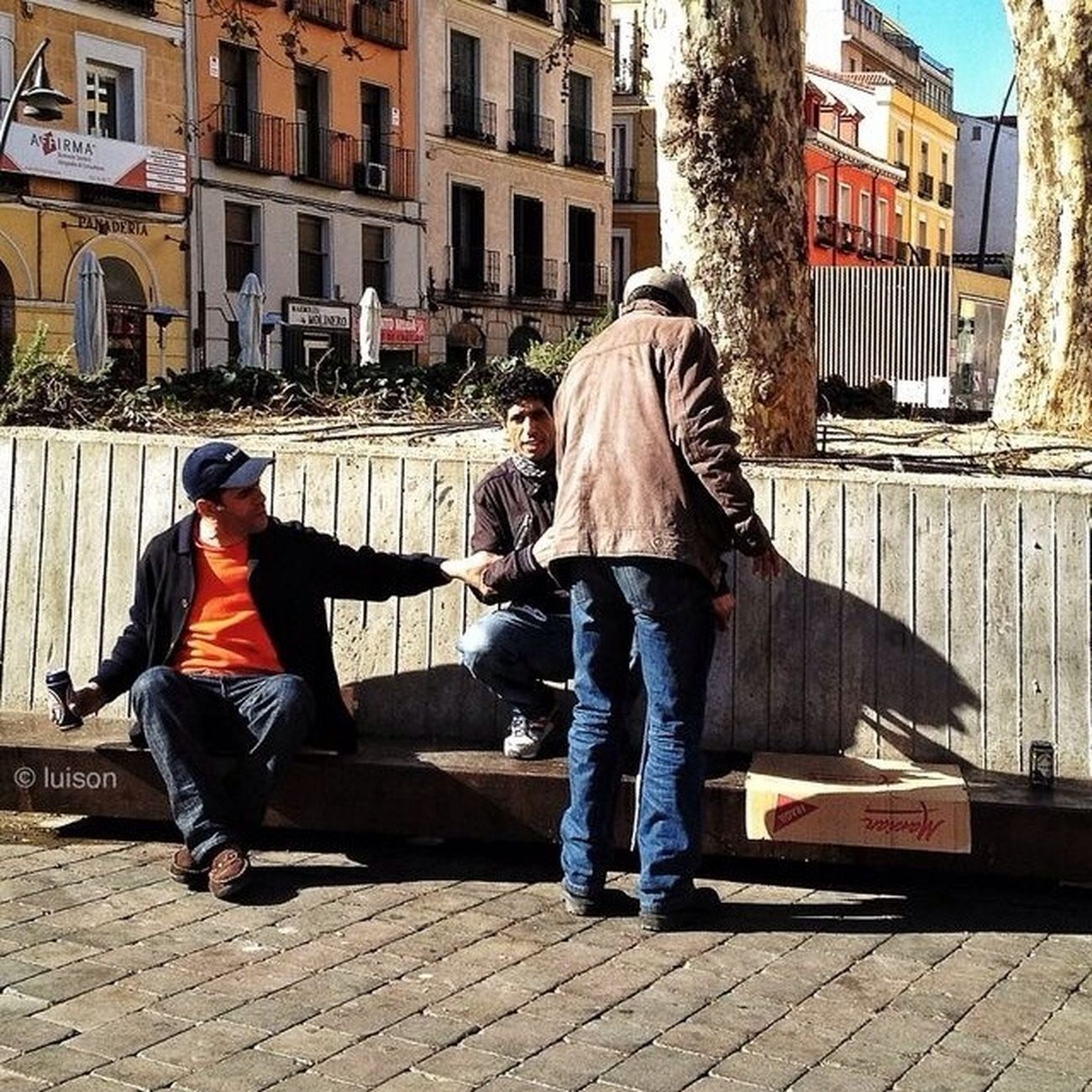 streetphotography at Plaza Tirso de Molina Streetphotography