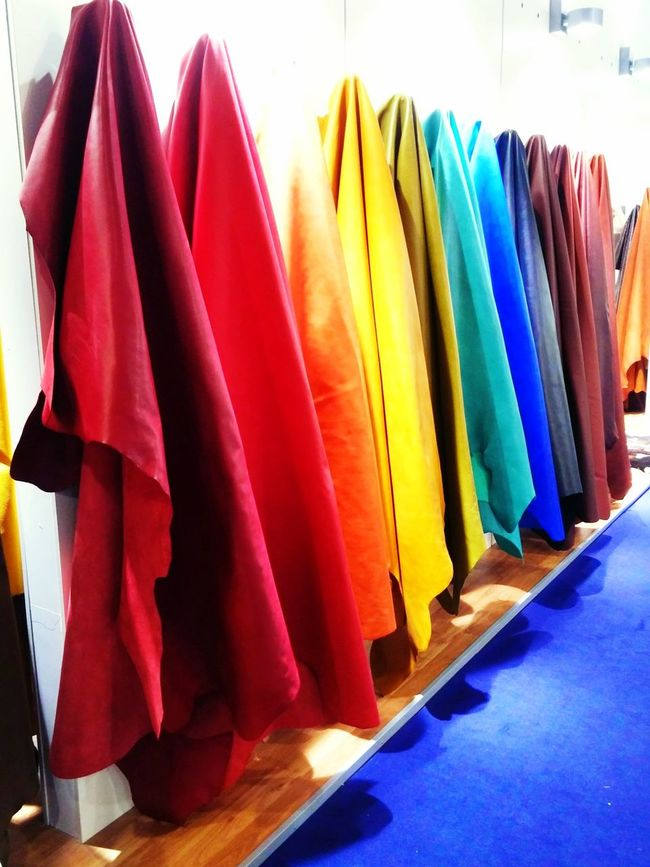 Rainbow leather Colors Colorful Leather