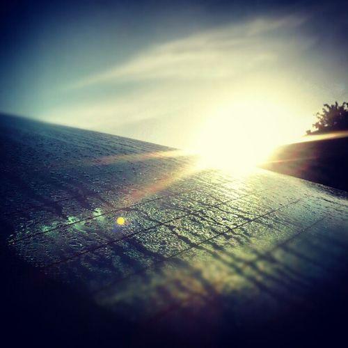 Sunrise Car Condensation Bilruta