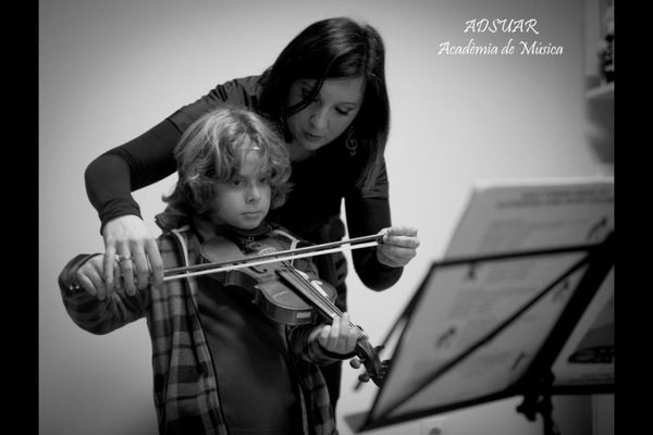 violin class at denia by Rei Xel