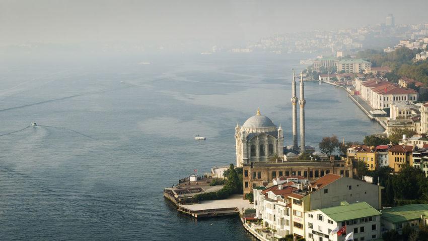 Bosphorus Bosphorus Bridge Foggy Istanbul Mosque Ortaköy Camii Sea Seascape Travel Travel Photography Turkey