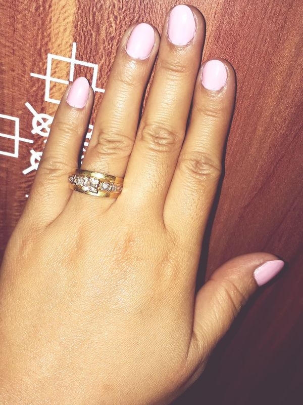 Only Love... Human Body Part Human Hand Only Women People Close-up Adult Nail Polish Adults Only One Woman Only One Person Indoors  Fingernail Day Wedding Ring Diamonds Strongwife Strongwoman Stronger Togther❤ EyeEm Selects Elégance Smiling Loveforeverandalways
