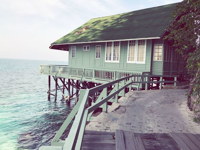 Amazing sea house at Rawa resort in Malaysia Sky Water Malaysia Holiday First Eyeem Photo