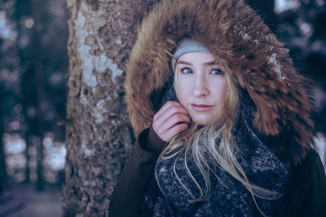 Winter Warm Clothing Redhead Young Adult Beauty Beautiful Woman Cold Temperature Long Hair Young Women Portrait Beautiful People Outdoors Looking At Camera One Person One Young Woman Only Snow Nature Women Adult Lifestyles