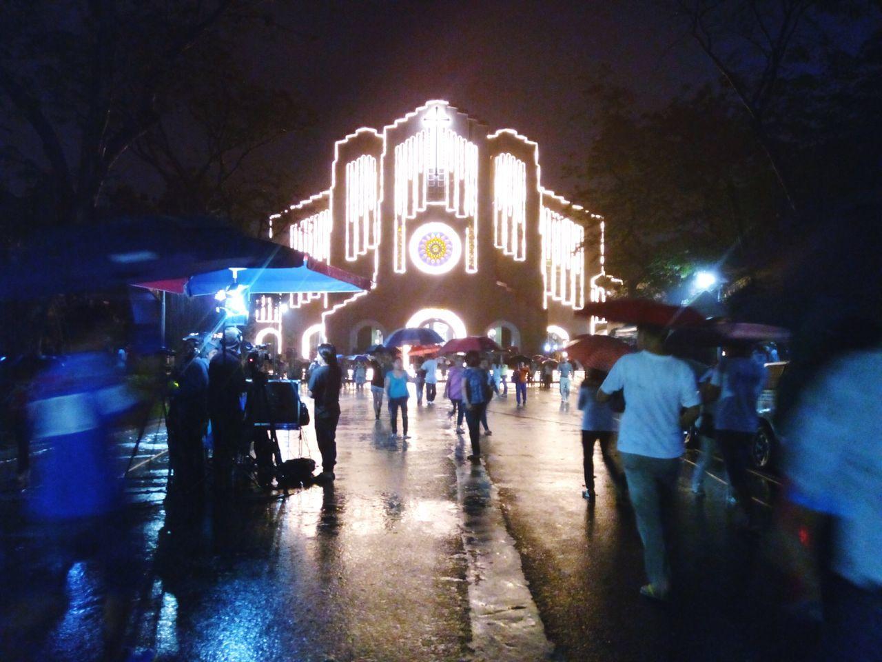 1st mass in Baclaran. Eyeem Philippines Simbanggabi Taking Photos Christmas Lights Baclaran Hello World Check This Out