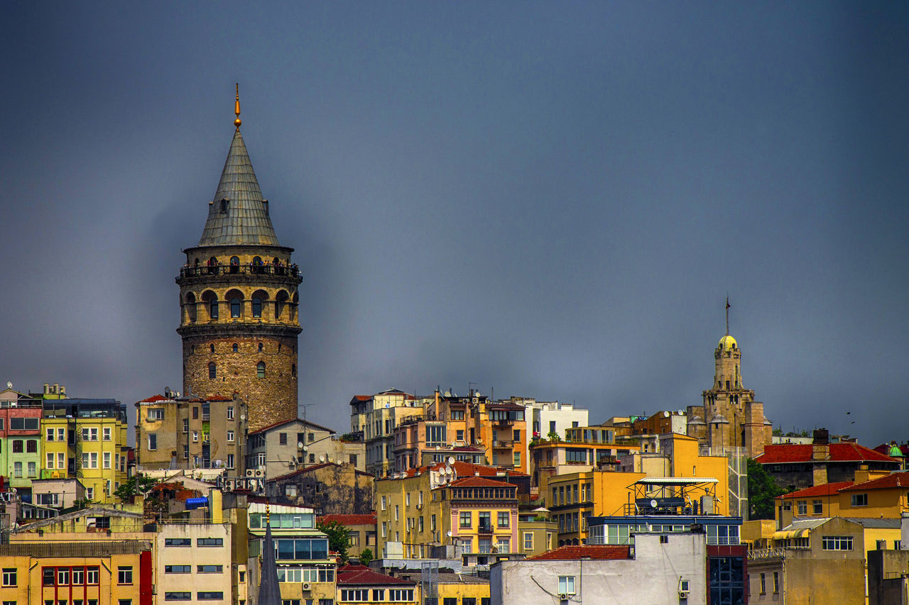 Architecture Building Exterior Built Structure City Cityscape EyeEm Gallery Galata Tower HDR Historical Building Istanbul Tower
