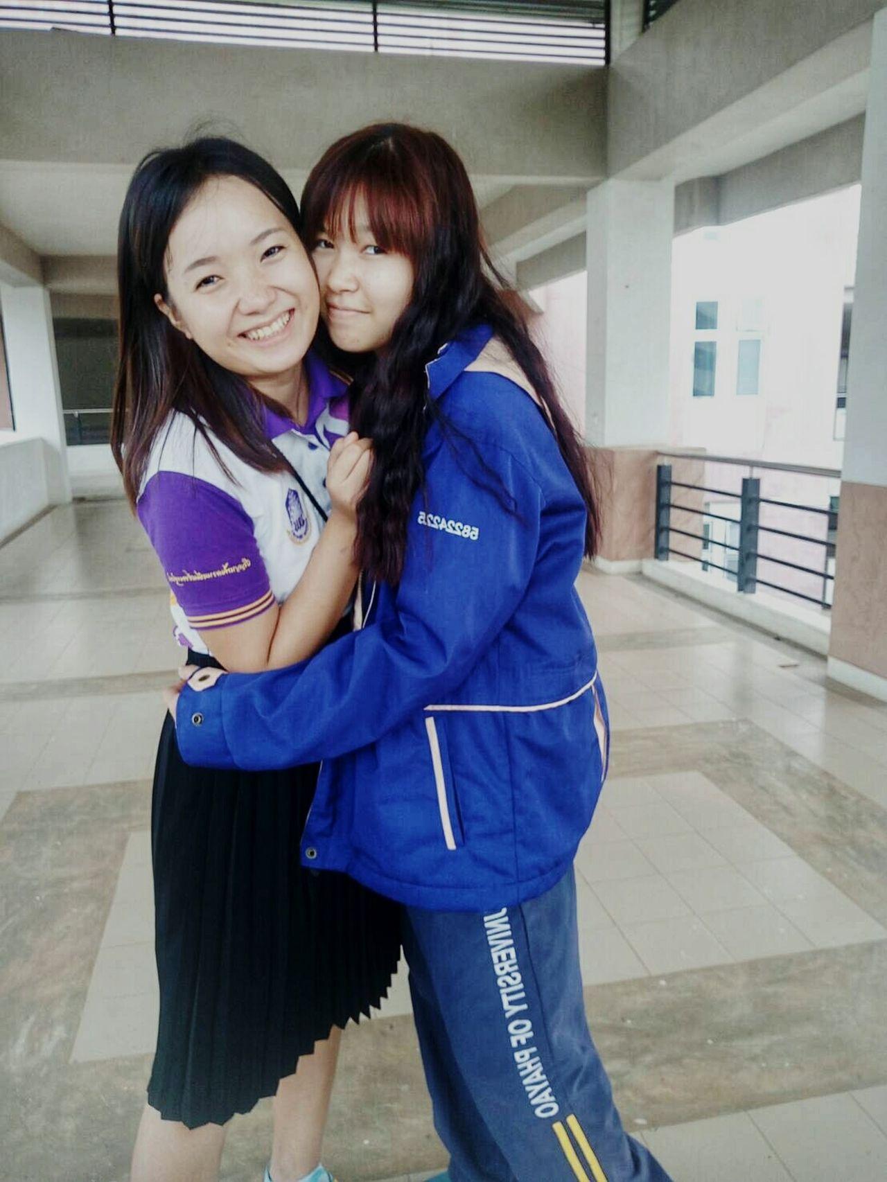รัก ♡ Girls Happiness Love Friendship First Eyeem Photo