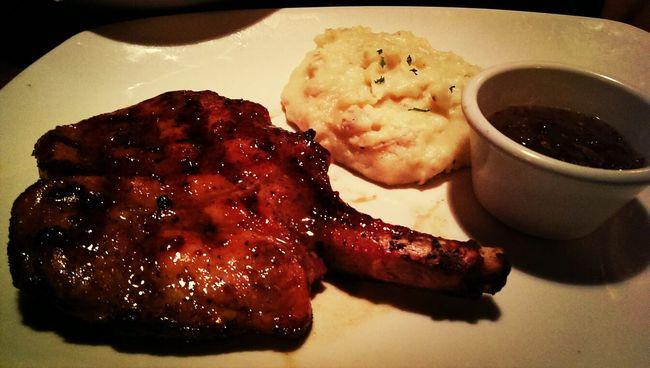 honey glazed pork chop! Porkchop So Juicy Quality Cut Dinner