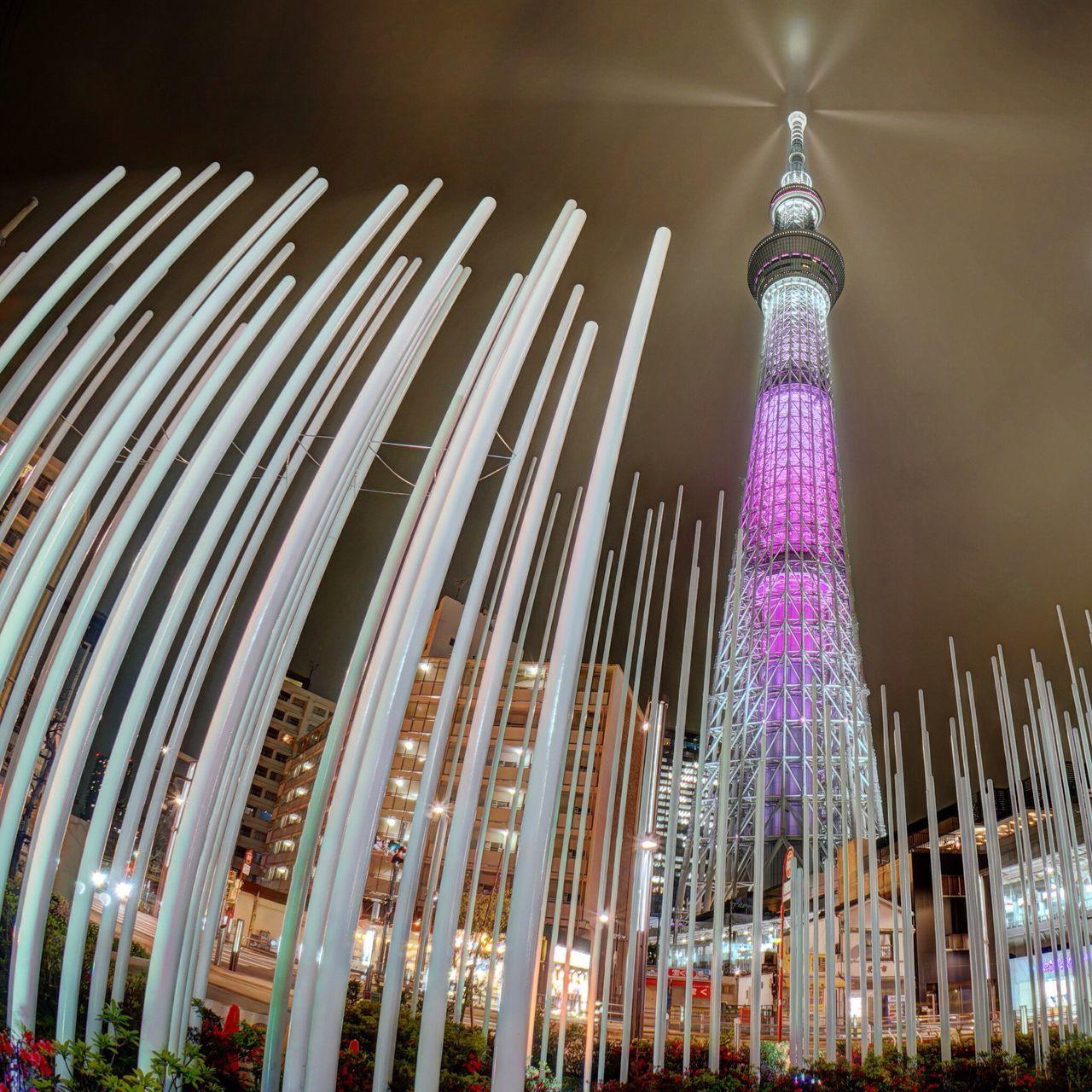 Tokyo Night Night Lights Illuminated Illumination Tokyo Sky Tree 舞 The Architect - 2016 EyeEm Awards Cities At Night Night View Found On The Roll The Photojournalist - 2016 EyeEm Awards The Street Photographer - 2016 EyeEm Awards The Great Outdoors - 2016 EyeEm Awards