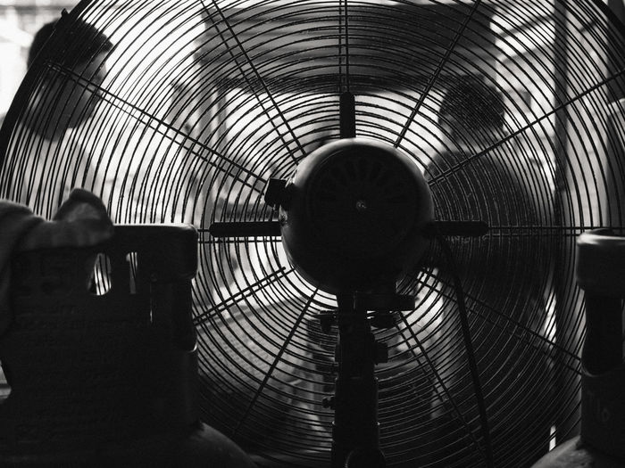 Architecture Built Structure Close-up Day Electric Fan Indoors  Men One Person People Real People