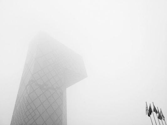 blackandwhite in Beijing by Rashiq