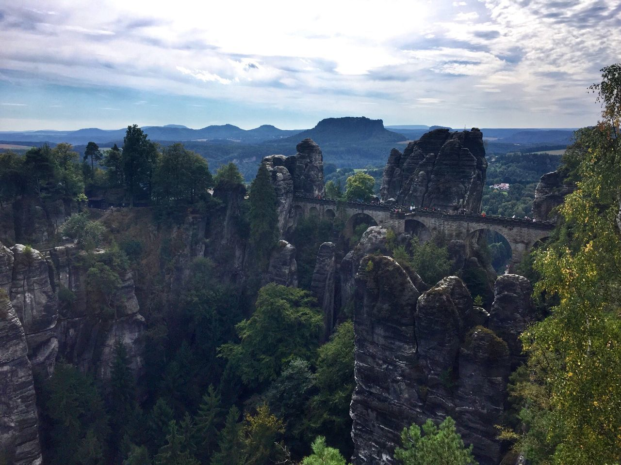 Basteibrücke Basteibrücke Bastei Elbsandsteingebirge Sächsische Schweiz Saxon Switzerland Germany Travel Photography Traveling Travel EyeEm Nature Lover Nature Rock Formation Mountain Bridge Naturelovers