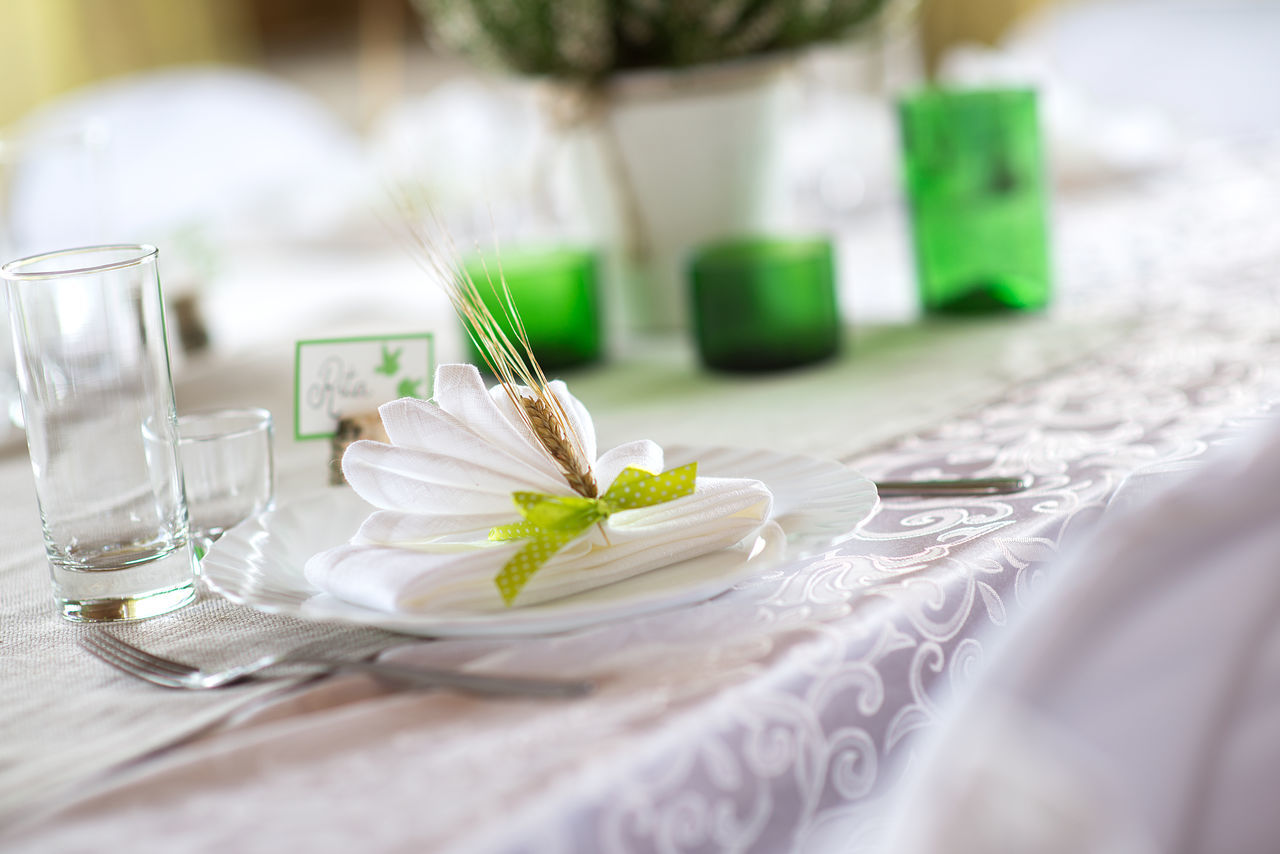 Beautiful stock photos of wedding party,  Celebration,  Close-Up,  Cutlery,  Day