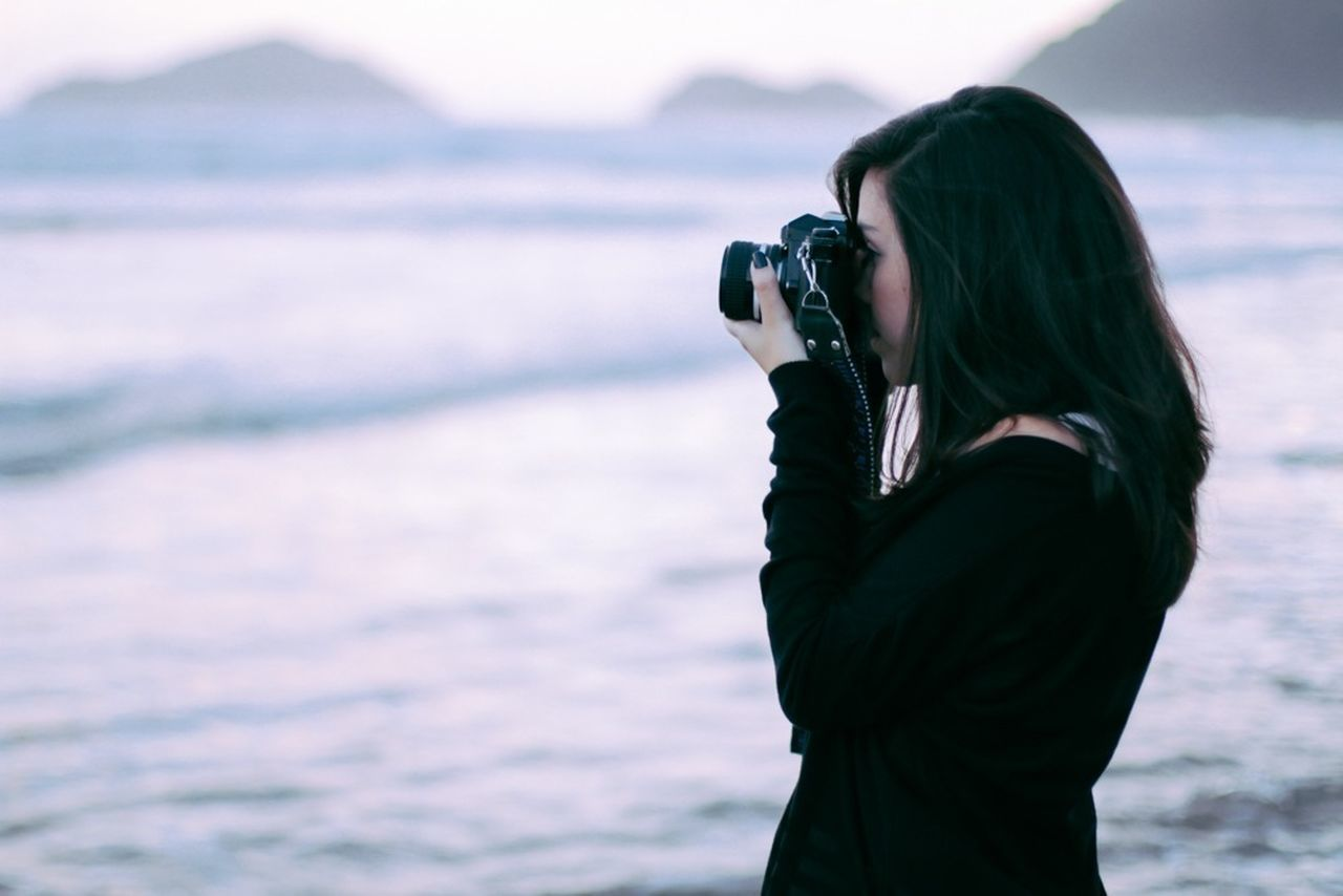 Beautiful stock photos of art, Beach, Beauty In Nature, Camera, Casual Clothing