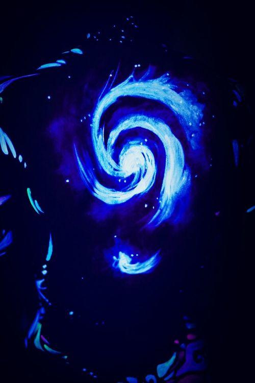 Galaxy Hide And Seek Body Glow Sterntagebuch AI Now EyeEmReady