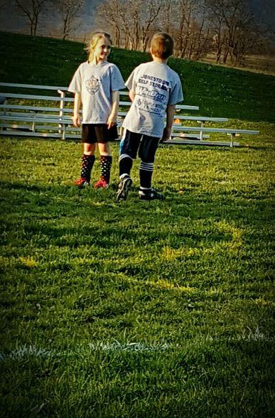 Making new friends wherever he goes...😉 Taking Photos Son Girl Boy Friends Soccer⚽ Kids Having Fun Soccer Game Eyeemsports Eyeemkids Love