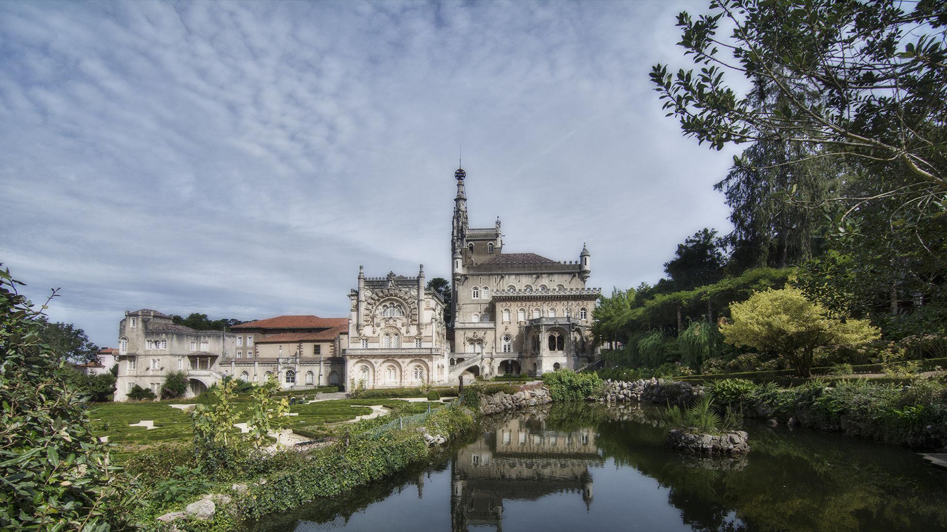 Architecture Built Structure History Nature Palace Hotel Do Bussaco Religion Travel Travel Destinations