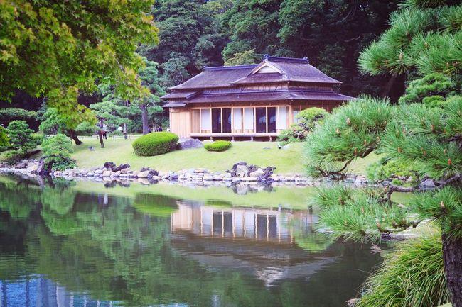 浜離宮恩賜庭園 松の御茶屋