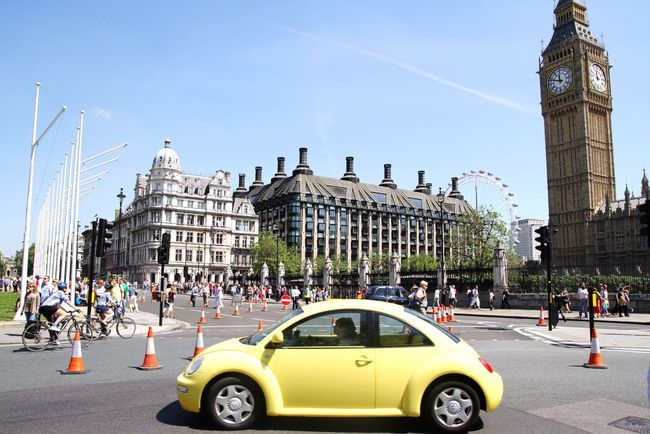 London Lifestyle Architecture City Clear Sky City Life People Day Big Ben London Eye Bentley