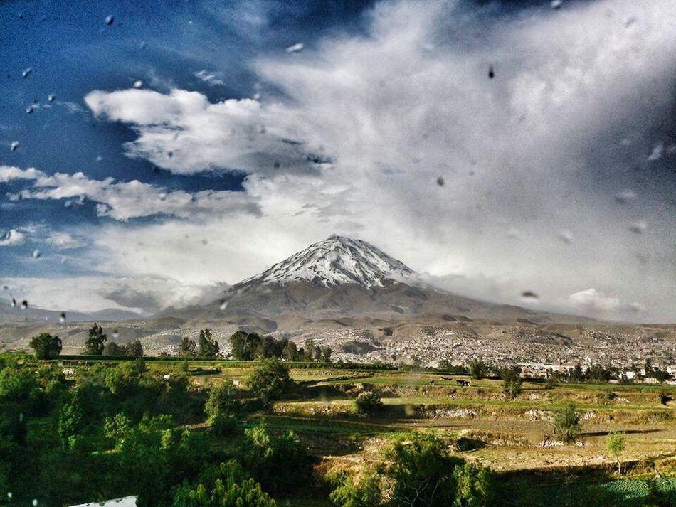 1/2 Que buena que salió la toma! Arequipa Arequipa - Peru Nature Peru Misti Vulcano Igersperu Landscape Campina Paisaje
