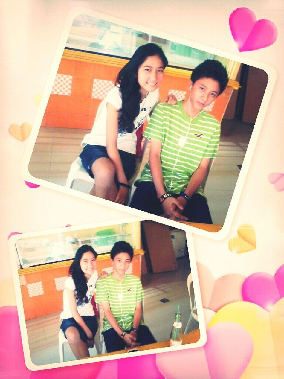 . Thissss <3 Anthony<3 Havingfun Teamgizzyboyyforever this awesome guy beside me ♥_♥ #feelingteenager #happy