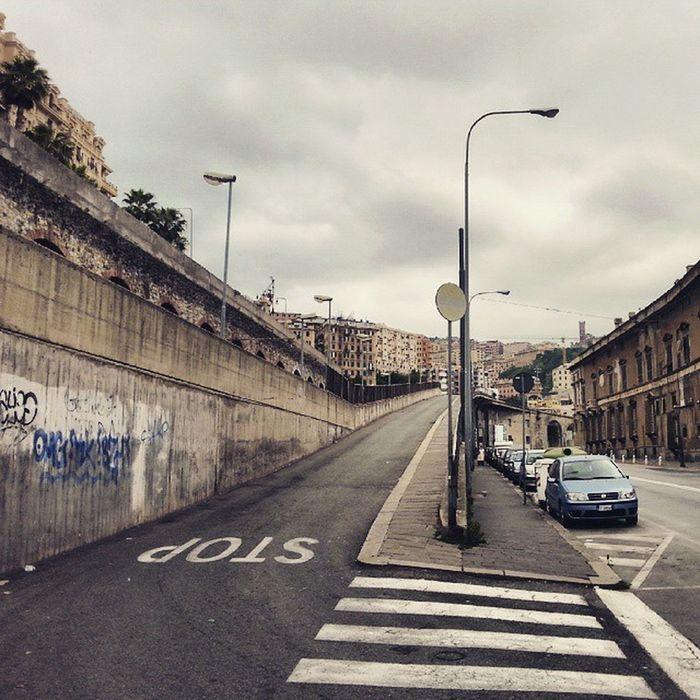 Genova Italy Igersgenova Travel City Street Genoa Clouds
