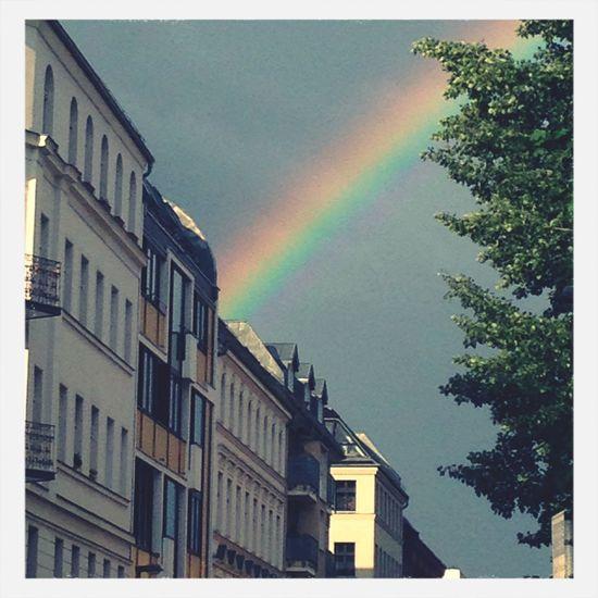 Doublerainbow Spring Berlin Sky