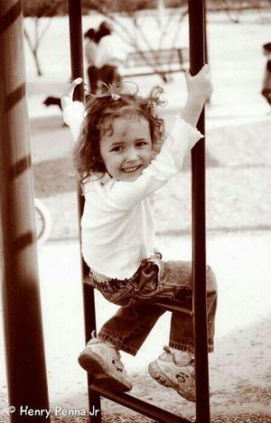 Izzy at the park Playground Everyday Joy Tucson Arizona  Sepia Sepiatone Show Me Your Sepia Ilford Film 35mm Minolta Film Is Not Dead