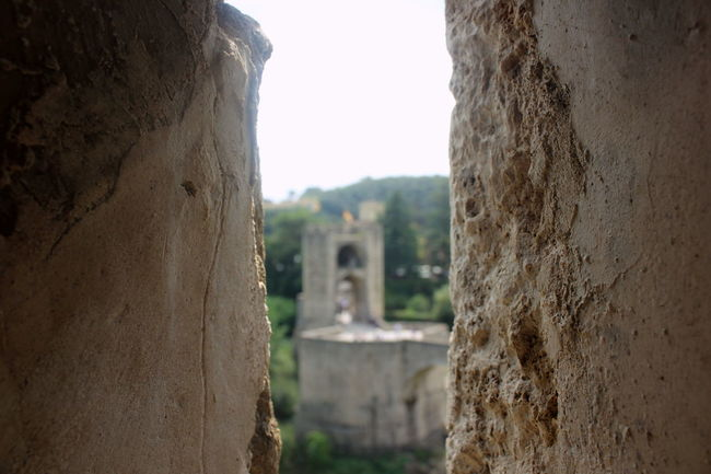 Architecture Building Exterior Built Structure Close-up Day Focus On Foreground From The Window Historic History Medieval Medieval Architecture Medieval City MedievalTown No People Sky Stone Material Textured  The Past Wall - Building Feature Weathered