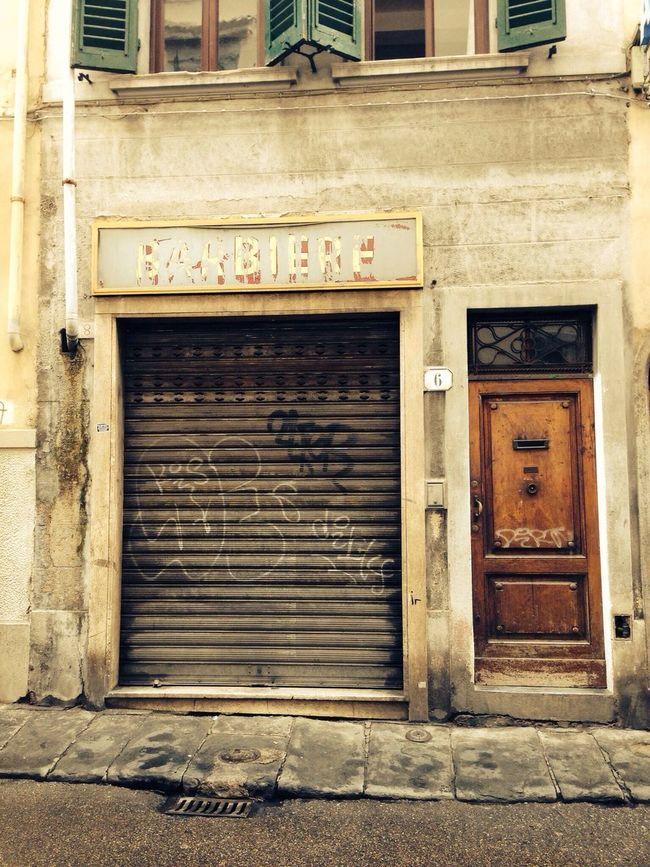 Barber Shop Walking Old