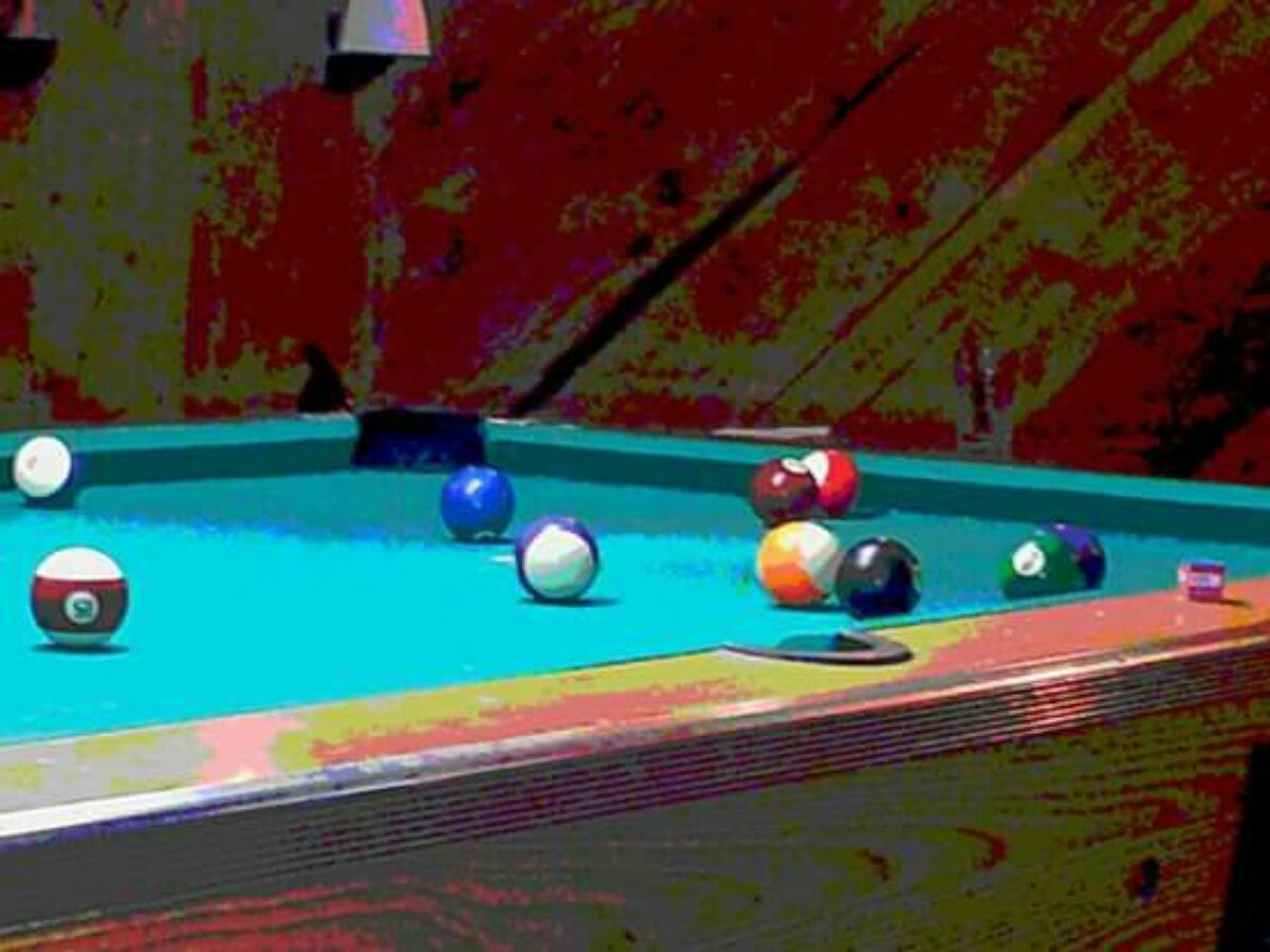 pool table, pool ball, ball, leisure games, pool - cue sport, sport, indoors, no people, close-up, snooker, pool cue, snooker and pool, day