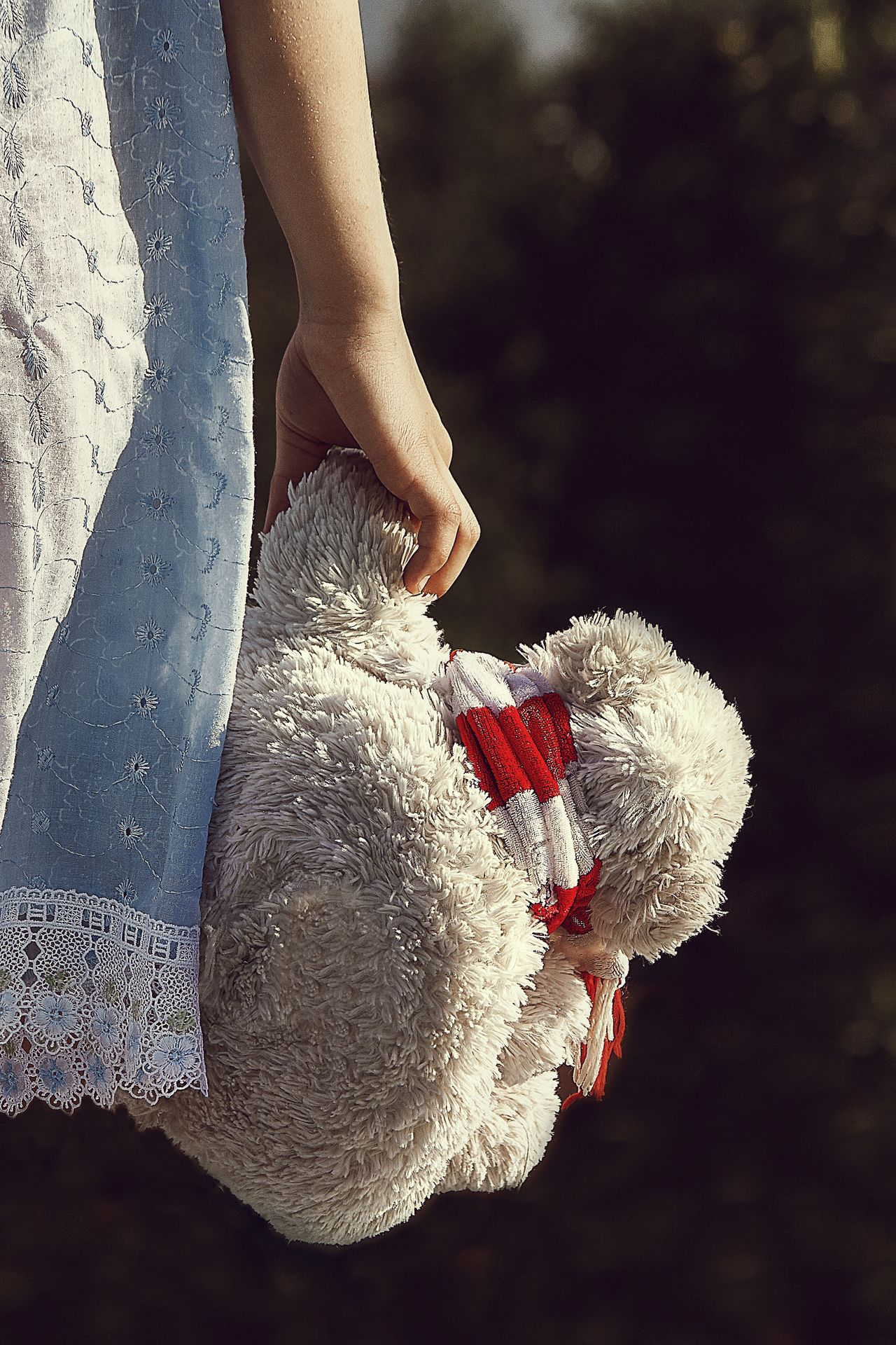 Russia Human Hand Human Body Part One Person Childhood Toy Stuffed Toy Holding Eyebrow Girl Teddy Bear Focus On Foreground Day Lifestyles Close-up Outdoors People Adult Adults Only