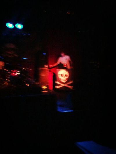 pre gig dj-ing... The Mahones Punk Rock