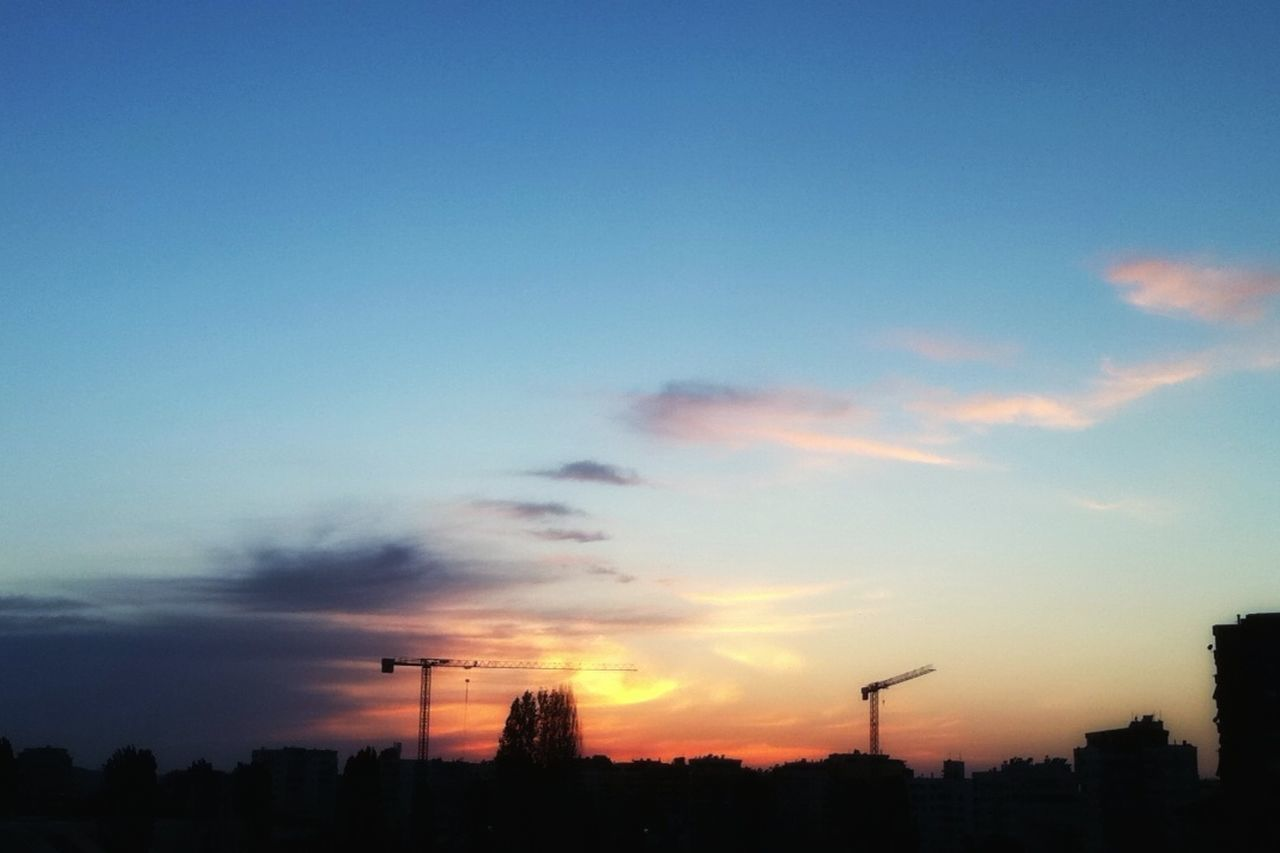 The Great Outdoors - 2017 EyeEm Awards Sunset Silhouette Cloud - Sky No People Dramatic Sky Sky Scenics Outdoors Tranquility Communication Tree Nature Beauty In Nature Road Sign Technology Dark Darkness And Light Tirana Lake