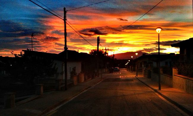 Capvespre a Caldes de Malavella Sunset