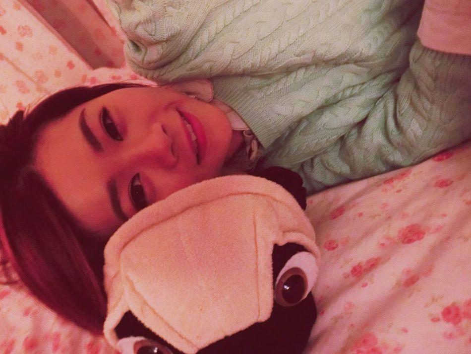 Goodmorning Asian  Girl Hello World